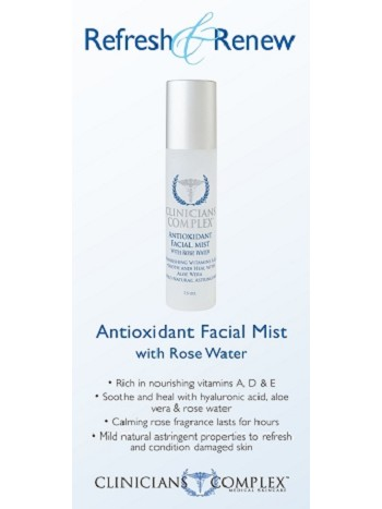 Antioxidant Facial Mist Sales Sheets